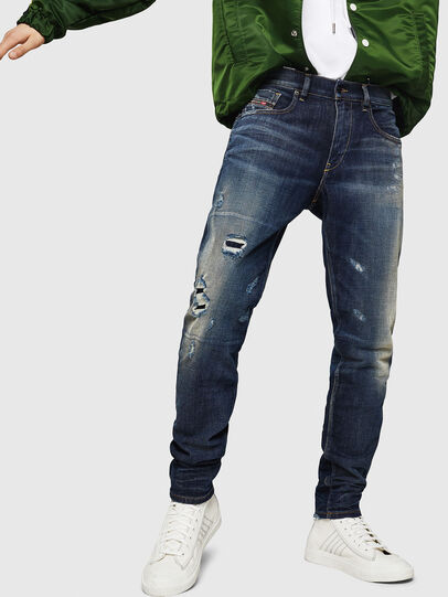 Diesel - D-Strukt 0890W, Blu Scuro - Jeans - Image 1