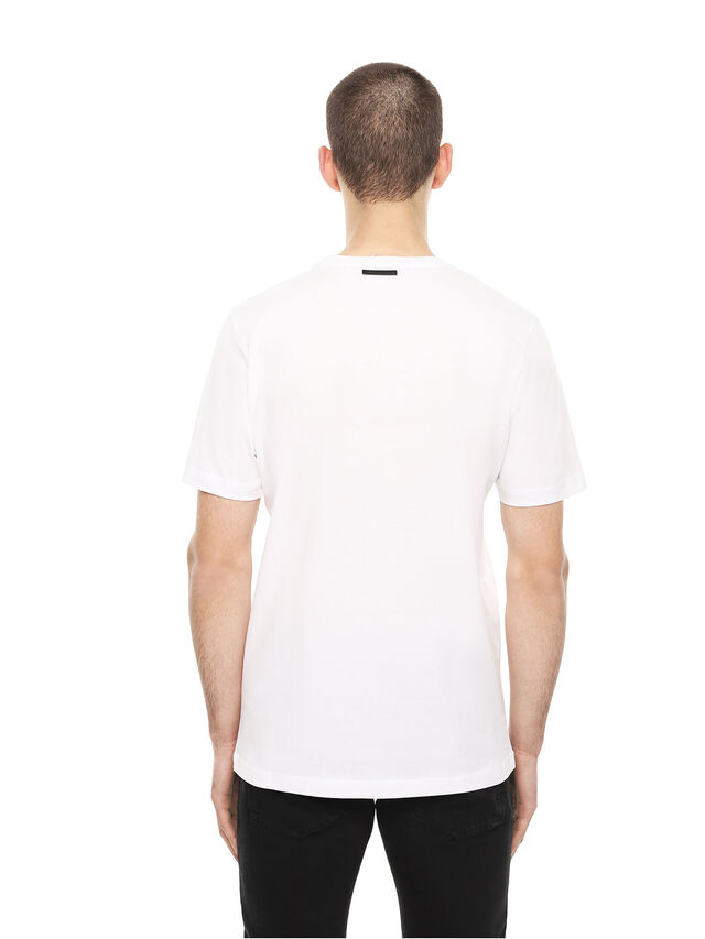 Diesel - TY-WRENCH, Bianco - T-Shirts - Image 2