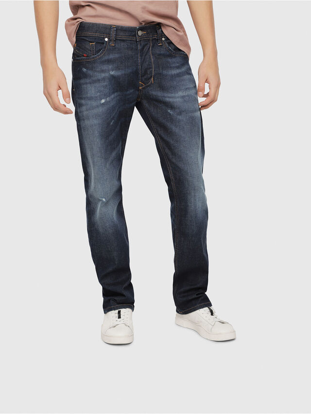 Diesel - Larkee 087AN, Blu medio - Jeans - Image 1