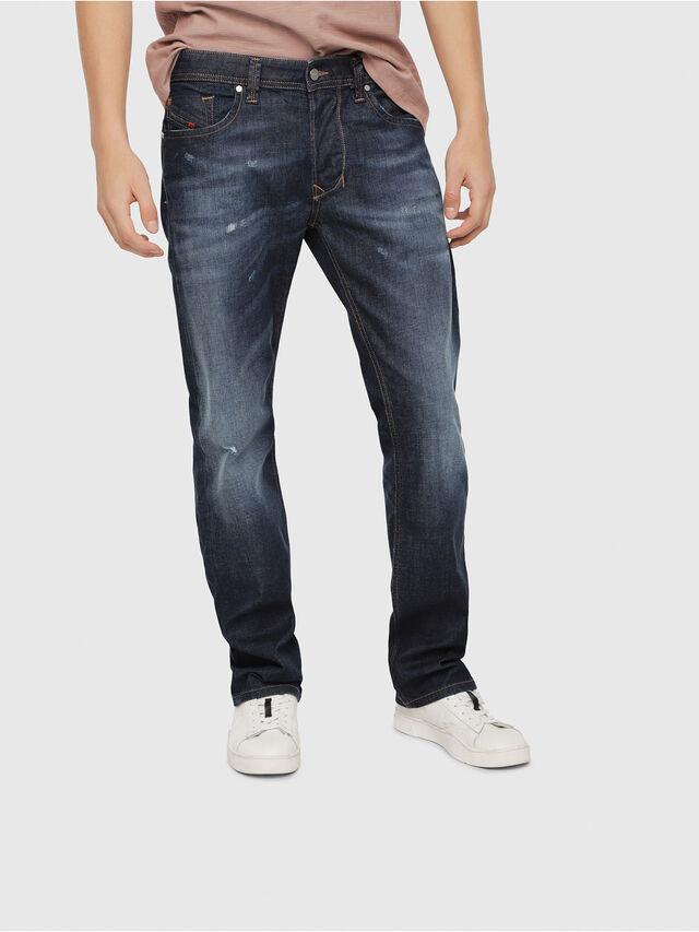 Diesel - Larkee 087AN, Blu Scuro - Jeans - Image 1