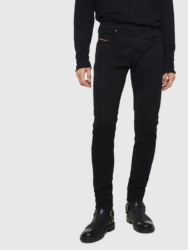 D-Strukt 069JB, Nero/Grigio scuro - Jeans