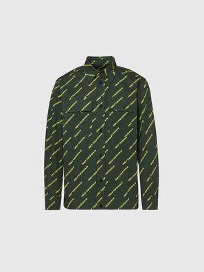 S-JESSTA, Verde Scuro - Camicie