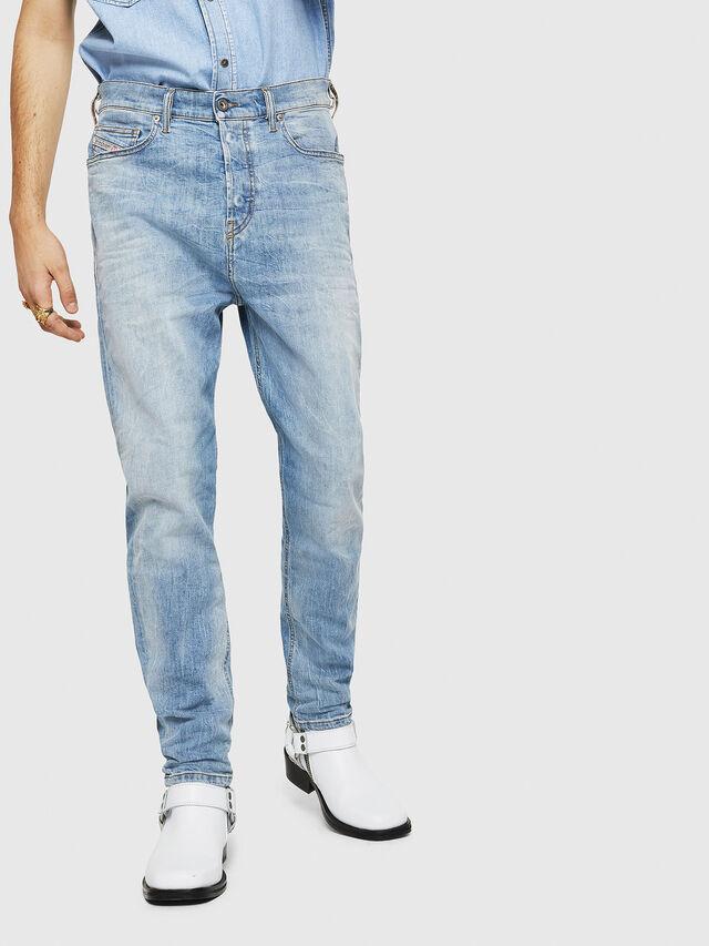 Diesel - D-Vider 081AL, Blu Chiaro - Jeans - Image 1