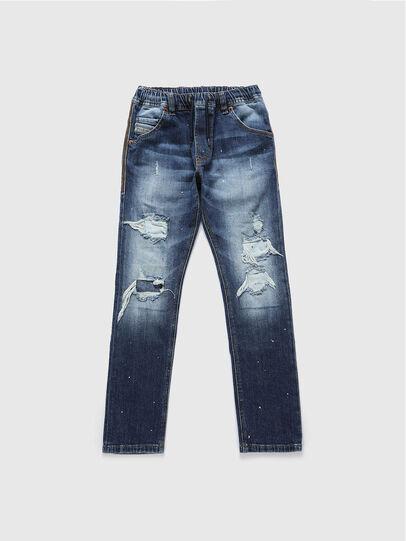 Diesel - KROOLEY-NE-J, Blu medio - Jeans - Image 1