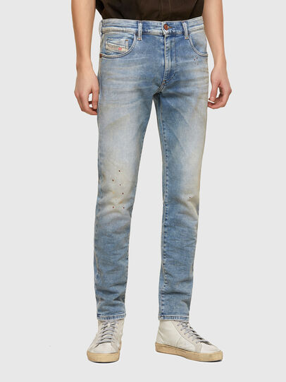 Diesel - D-Strukt JoggJeans® 069UU, Blu Chiaro - Jeans - Image 1