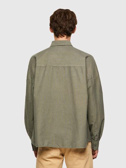 Diesel - S-LOOMY-B, Verde Militare - Camicie - Image 2