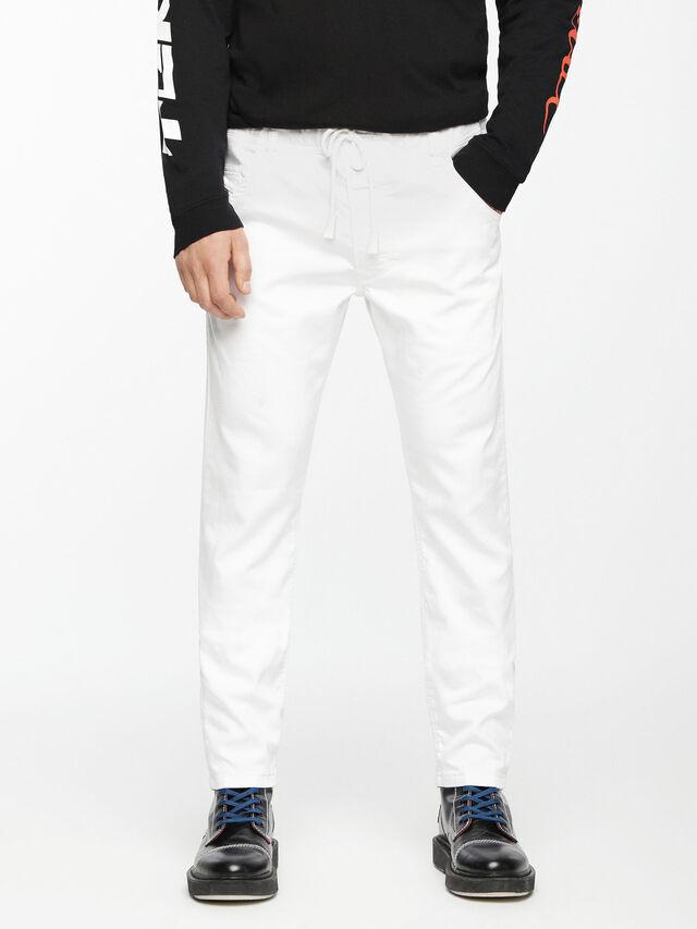 Krooley JoggJeans 0684U, Bianco