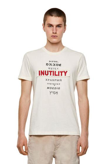 T-shirt Green Label con applicazione Inutility