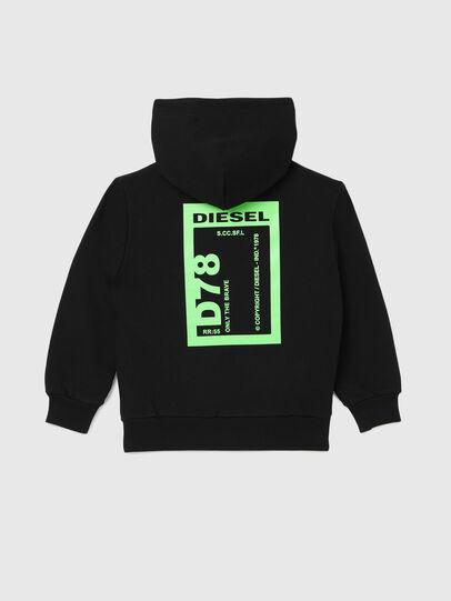 Diesel - SFULLZIP78 OVER, Nero - Felpe - Image 2