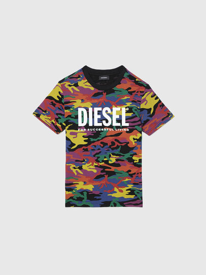Diesel - TDIEGORBOW, Multicolor - T-shirts e Tops - Image 1