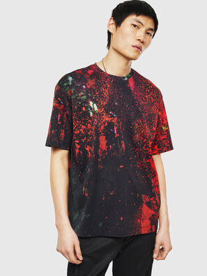 TEORIALE-D, Nero/Rosso - T-Shirts