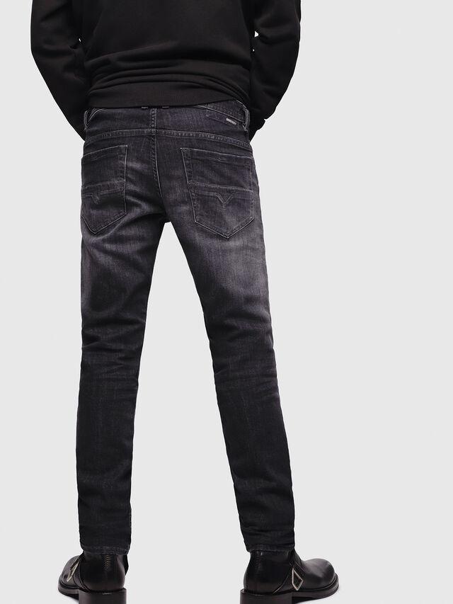 Diesel - Thommer 087AM, Nero/Grigio scuro - Jeans - Image 2