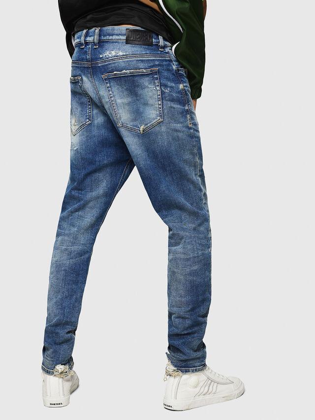 Diesel - D-Vider JoggJeans 0870Q, Blu medio - Jeans - Image 2