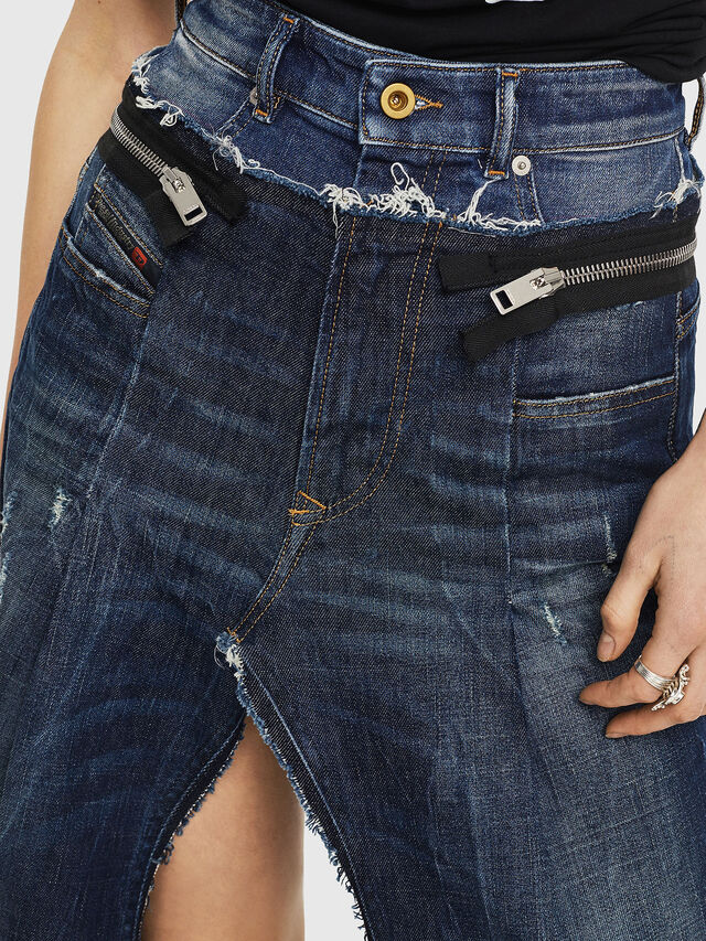Diesel - DE-EVERY, Blu medio - Shorts - Image 4