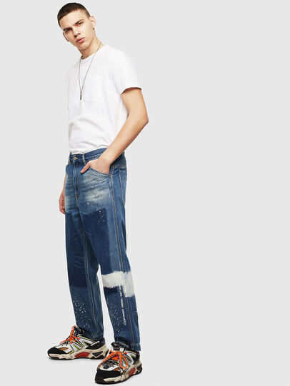 Diesel - D-Franky 009CB, Blu medio - Jeans - Image 8