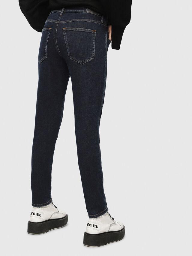 Diesel - Babhila 084YD, Blu Scuro - Jeans - Image 3