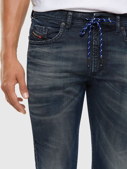 Diesel - Thommer JoggJeans® 069NT, Blu Scuro - Jeans - Image 3