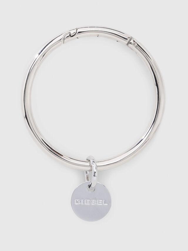 Diesel - CL-METAL BANGLE, Argento - Bijoux e Gadget - Image 1