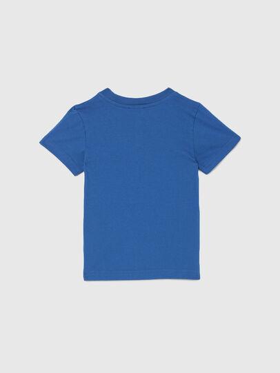 Diesel - TJUSTLOGOB-R, Blu - T-shirts e Tops - Image 2