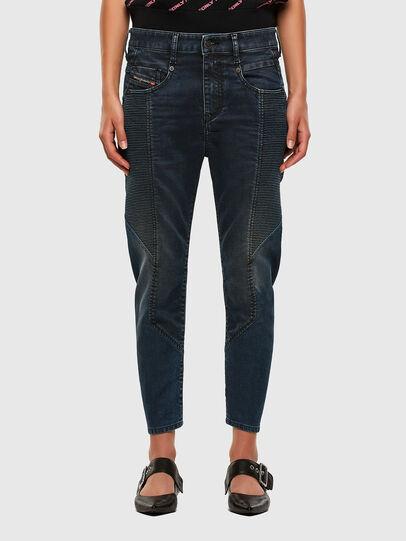 Diesel - FAYZA JoggJeans® 069PQ, Blu Scuro - Jeans - Image 1