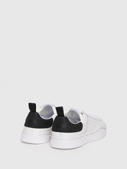 Diesel - S-CLEVER LOW W, Bianco/Nero - Sneakers - Image 3