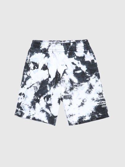 Diesel - PROLLY, Nero/Bianco - Shorts - Image 1