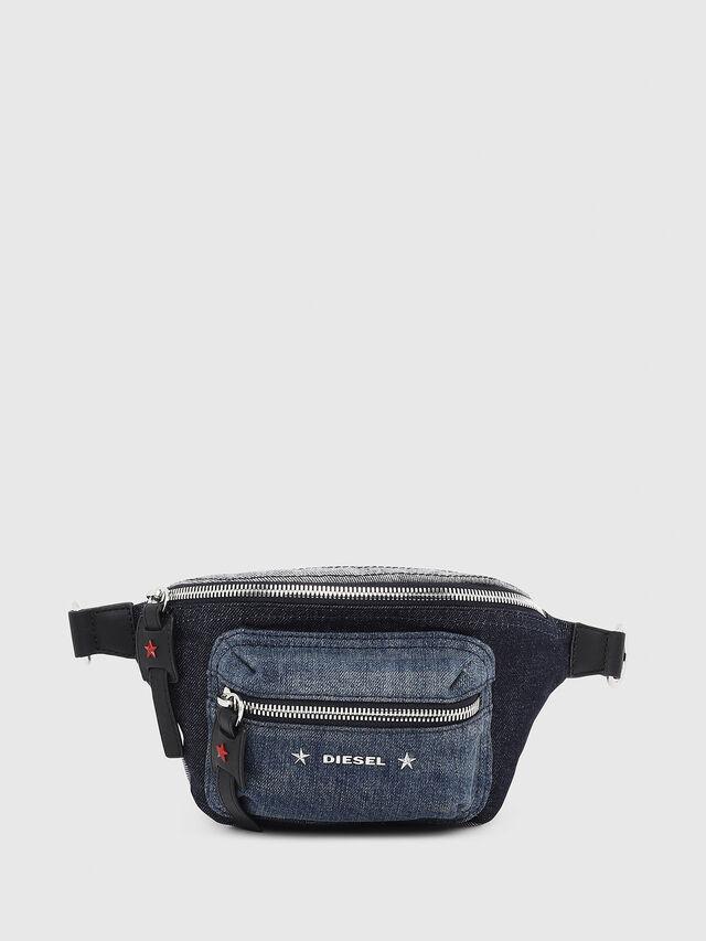Diesel - F-DESTAR BELTBAG, Blu Jeans - Marsupi - Image 1