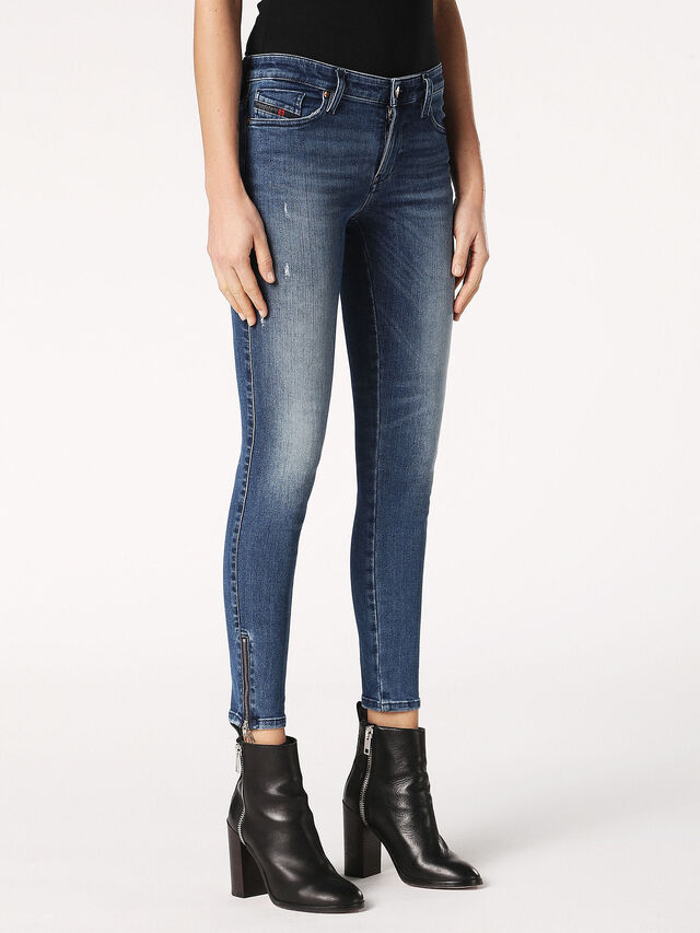 SKINZEE-ZIP 0689I, Blu Jeans
