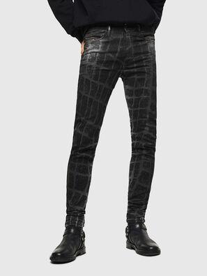 D-Reeft JoggJeans 0094M, Nero/Grigio scuro - Jeans