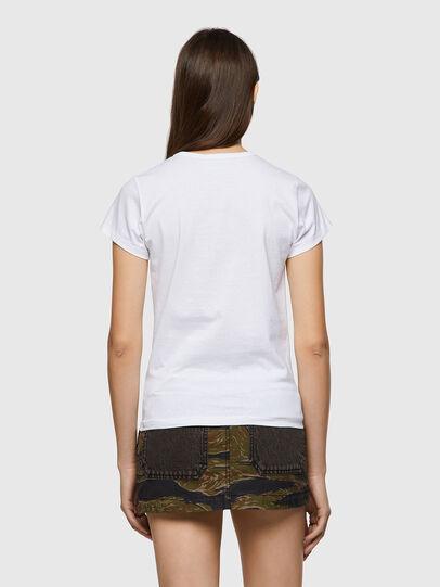 Diesel - T-SLICUP-B1, Bianco - T-Shirts - Image 2