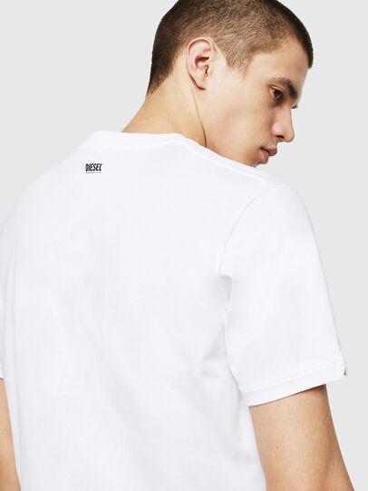 Diesel - T-CHERUBIK-NEW, Bianco - T-Shirts - Image 3