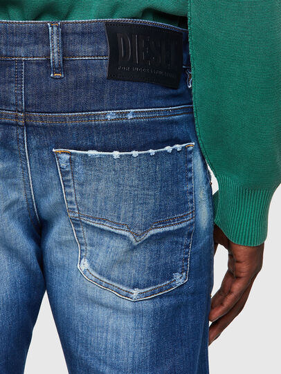 Diesel - Krooley JoggJeans® 09B52, Blu medio - Jeans - Image 3