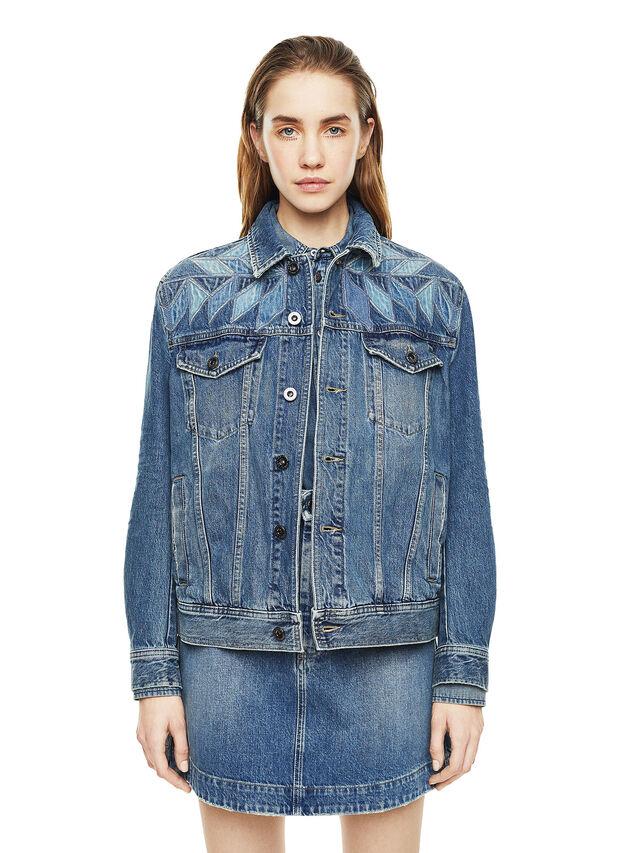 Diesel - WONDERY, Blu Jeans - Giacche - Image 1