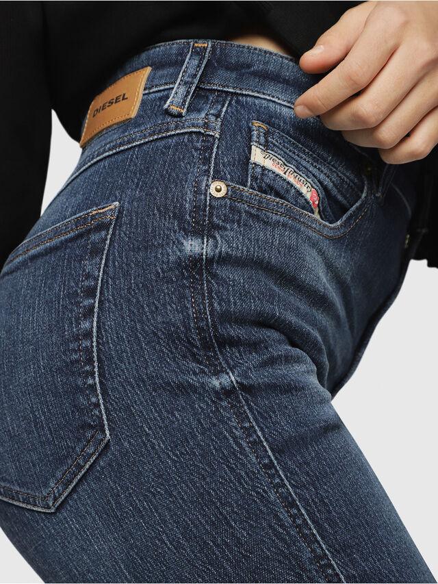 Diesel - Babhila High 089AH, Blu Scuro - Jeans - Image 3