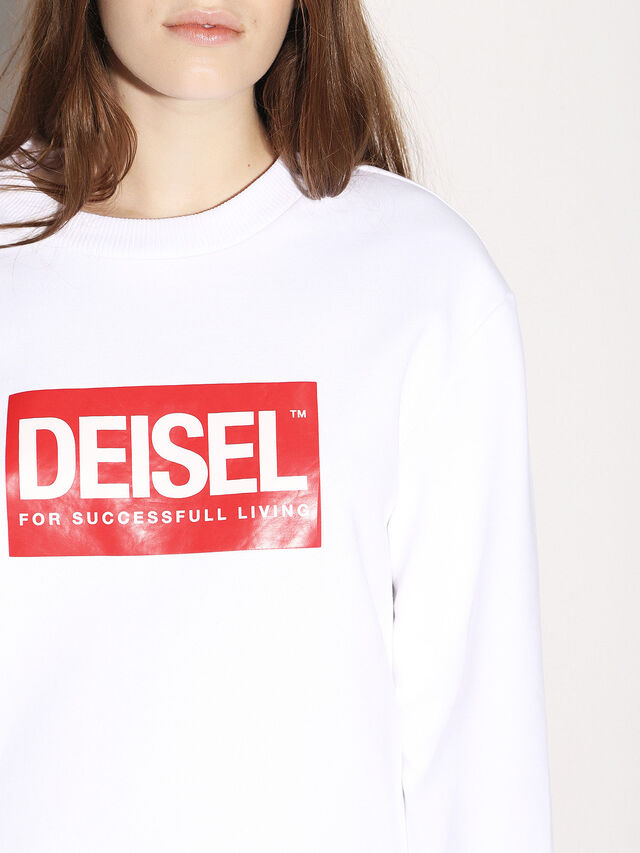 Diesel - DEIS-SGIRO, Bianco - Felpe - Image 8