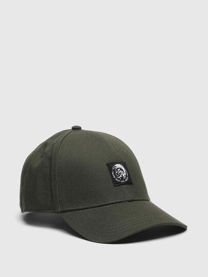 Diesel - CONDI-MAX-A, Verde Militare - Cappelli - Image 1