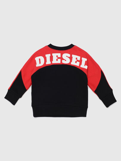Diesel - STRICKB, Nero/Rosso - Felpe - Image 2