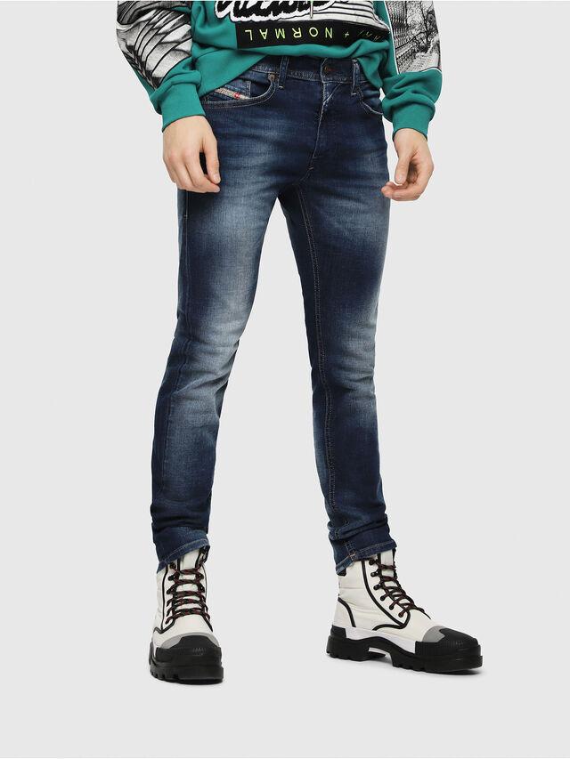 Diesel - Thommer 084GR, Blu Scuro - Jeans - Image 1