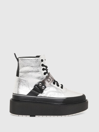 Diesel - H-SCIROCCO STRAP, Argento - Sneakers - Image 1