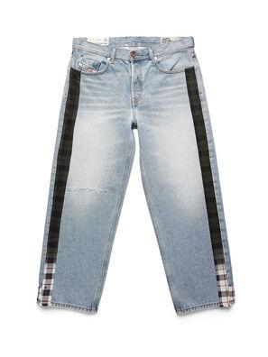 D-DEEPCHECKDENIM, Blu Chiaro - Pantaloni