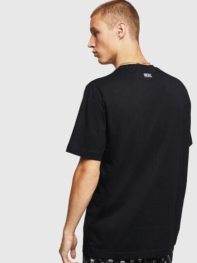 Diesel - T-JUST-B15, Nero - T-Shirts - Image 2