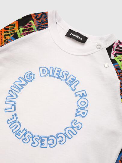 Diesel - TENTYB, Bianco - T-shirts e Tops - Image 3