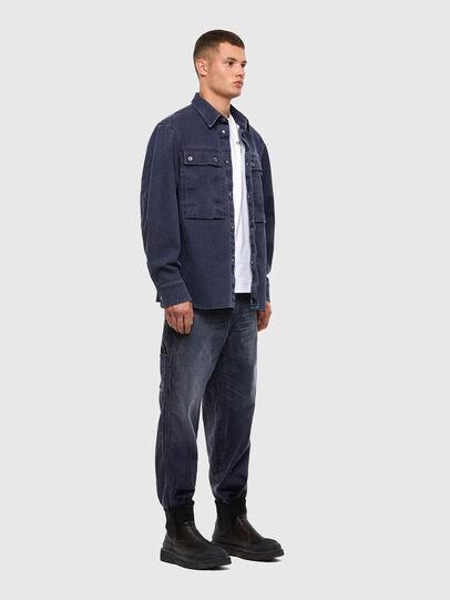 Diesel - D-Franky 009IY, Blu Scuro - Jeans - Image 6