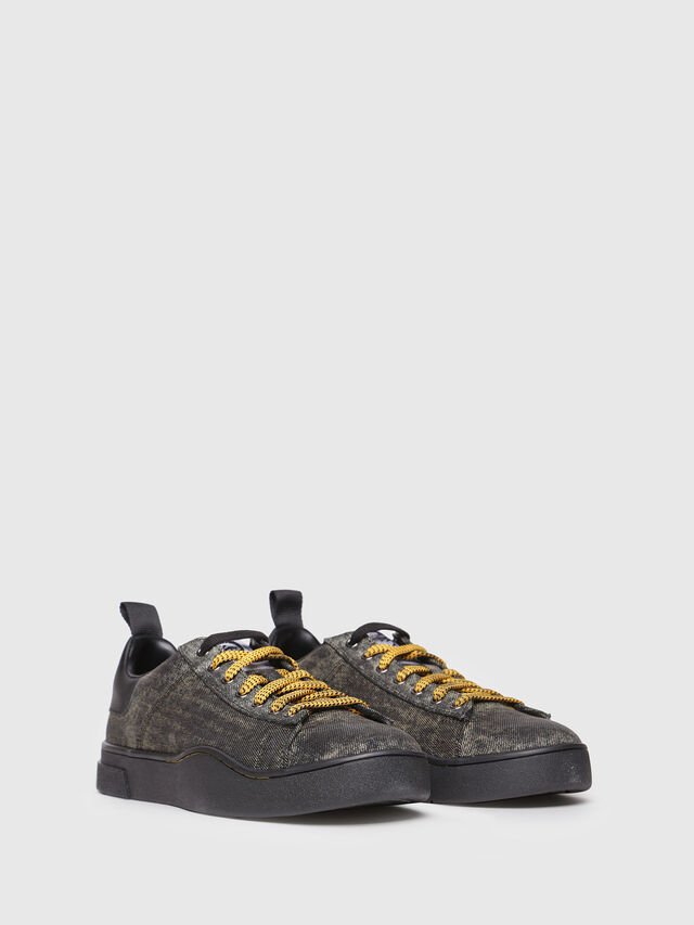 Diesel - S-CLEVER LOW, Antracite - Sneakers - Image 2