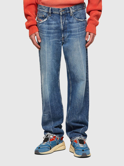 Diesel - D-Macs 09A25, Blu medio - Jeans - Image 1