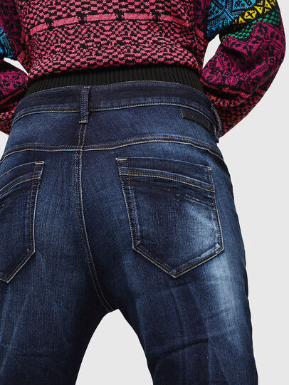 Diesel - Fayza JoggJeans 069IE, Blu Scuro - Jeans - Image 4