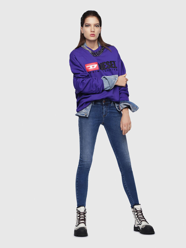 Diesel - Slandy 084NM, Blu medio - Jeans - Image 3