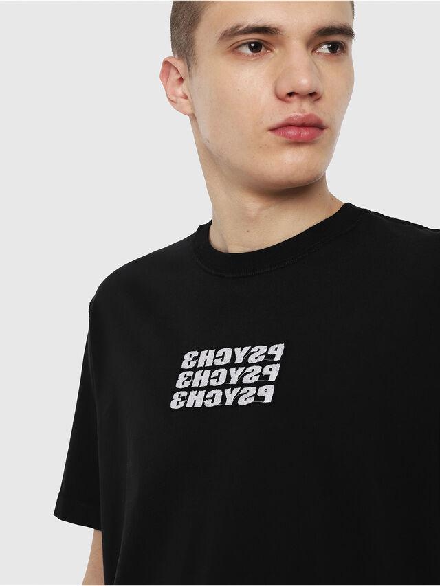Diesel - T-JUST-Y9, Nero - T-Shirts - Image 2