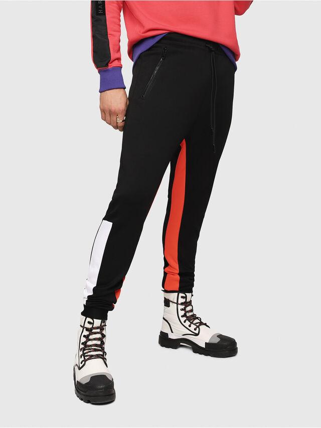 Diesel - P-MITSUO, Multicolor/Nero - Pantaloni - Image 1