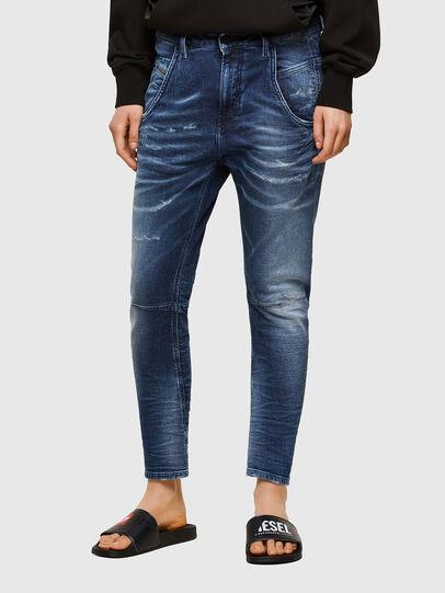 Diesel - Fayza JoggJeans® 0096M, Blu Scuro - Jeans - Image 1